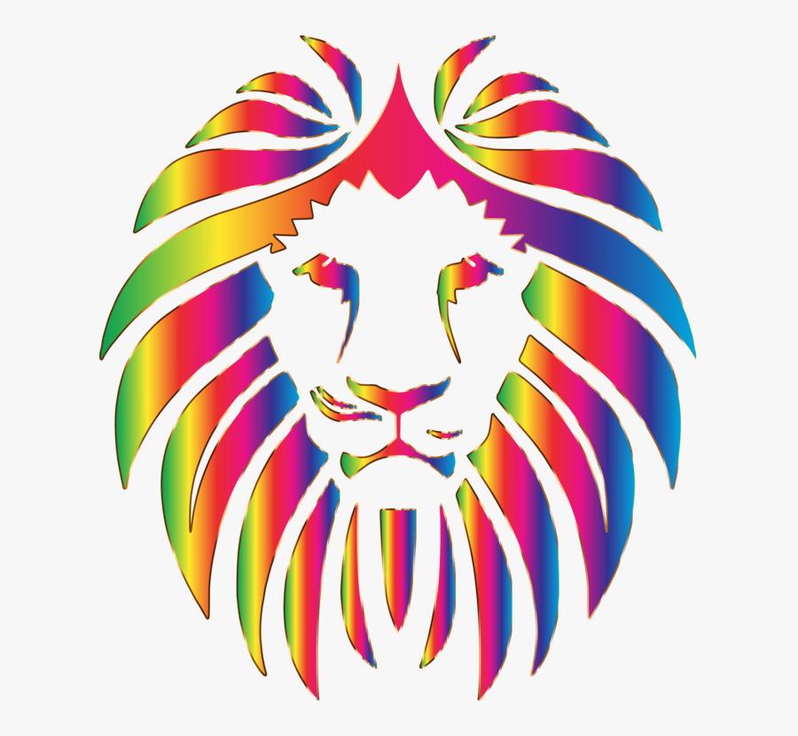 Transparent Lion Head Roar Png - Vector Lion Head Png, Transparent Clipart