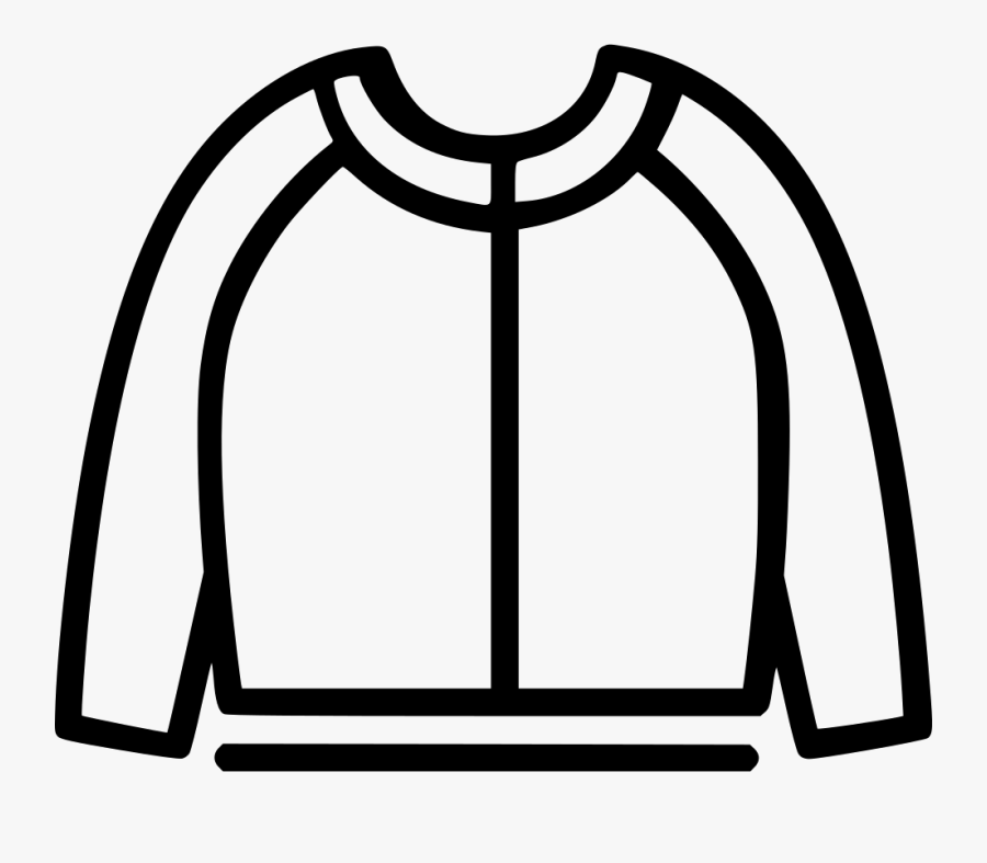 Knitwear Svg Png Icon - Baby Sweater Icon, Transparent Clipart