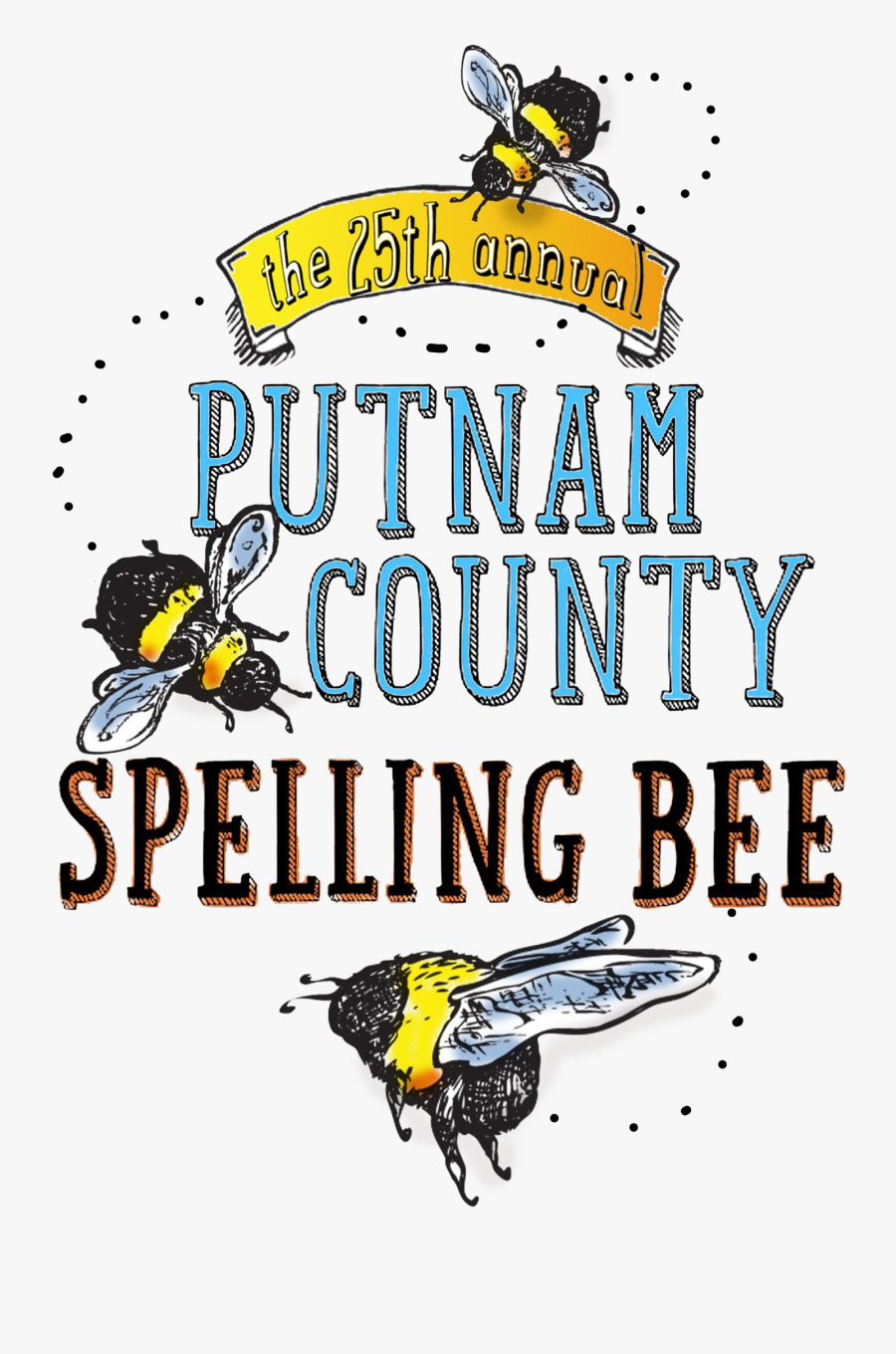 Transparent Spelling Bee Png 25th Annual Putnam County Spelling Bee Free Transparent Clipart Clipartkey