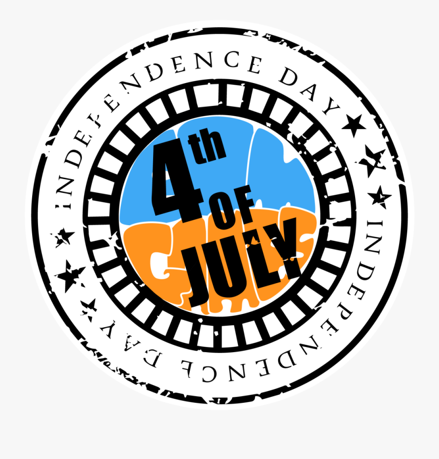 Transparent July 4th Clip Art - Happy 4th Of July Png, Transparent Clipart