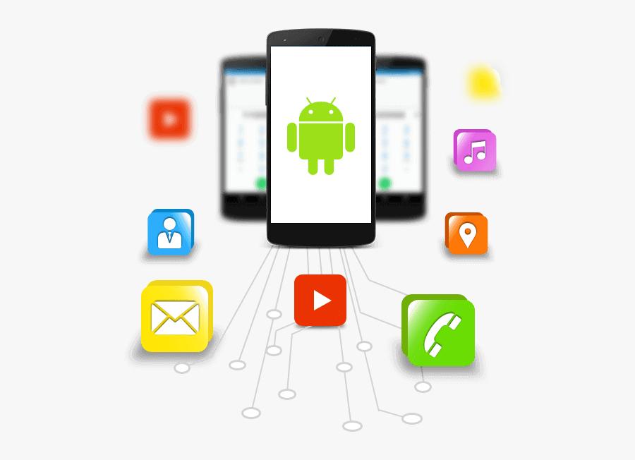 Smartphone Clipart App Developer - Android Developers Mobile App Software, Transparent Clipart