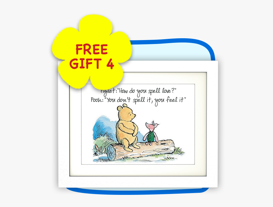 Classic Winnie The Pooh And Piglet, Transparent Clipart