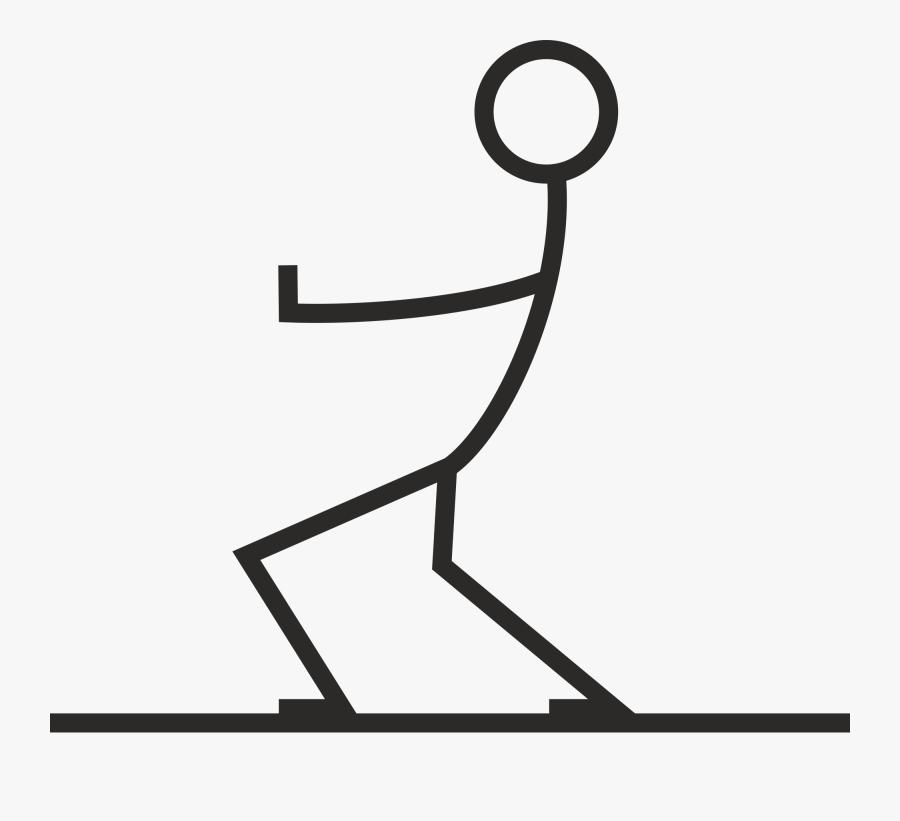 Transparent Stick Figure Family Clipart - Clipart Stick Figure Pulling, Transparent Clipart