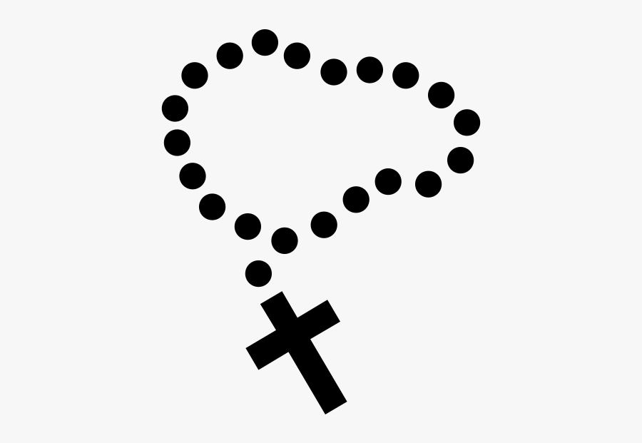 "Rosary Rubber Stamp""  Class=""lazyload Lazyload Mirage - Crispr Cas9 Future Applications, Transparent Clipart"