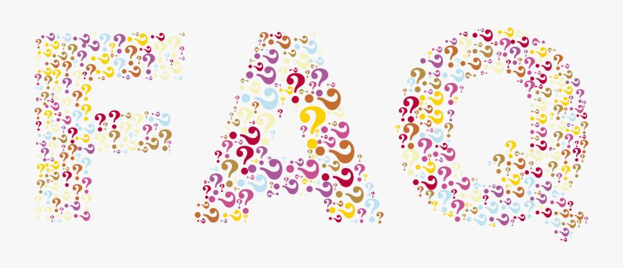 Pink,sticker,graphic Design - Faq Background, Transparent Clipart