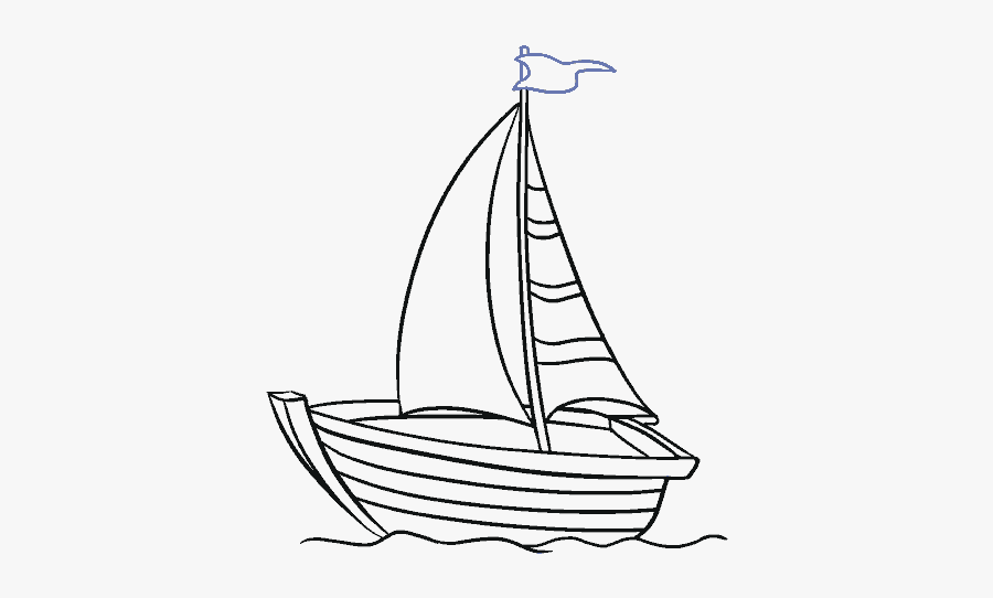 How To Draw Boat Easy Fishing Boats Drawing Free Transparent Clipart Clipartkey