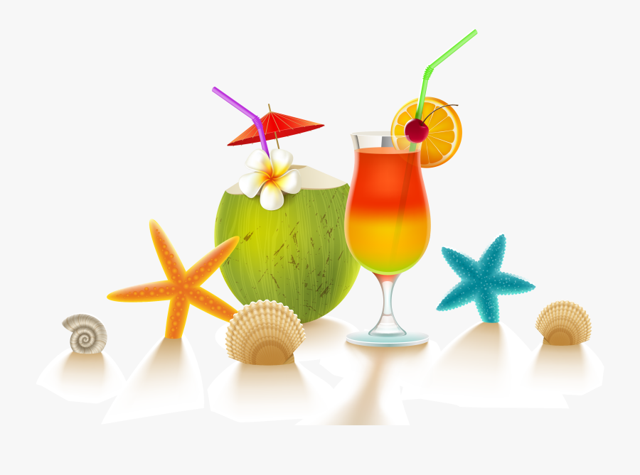 Aquapark Bar Illustration Cool - Kahunaville Drink Menu, Transparent Clipart