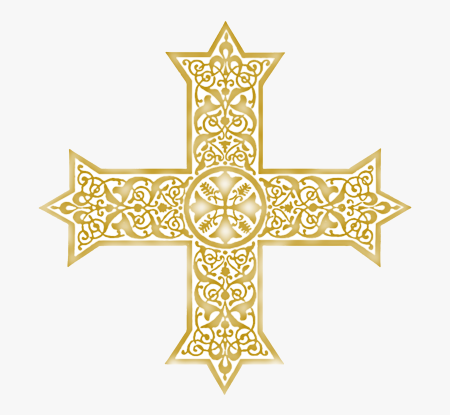 Lent Clipart Colored Cross - Coptic Cross Clipart, Transparent Clipart