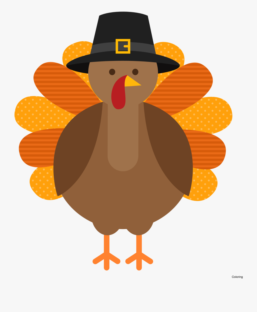 Animated Turkey Cilpart Awesome - Turkey Thanksgiving Clipart, Transparent Clipart