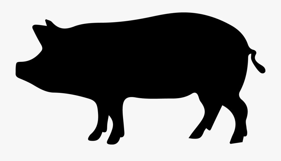 Wild Boar Clip Art - La Culpa Es Del Chancho, Transparent Clipart