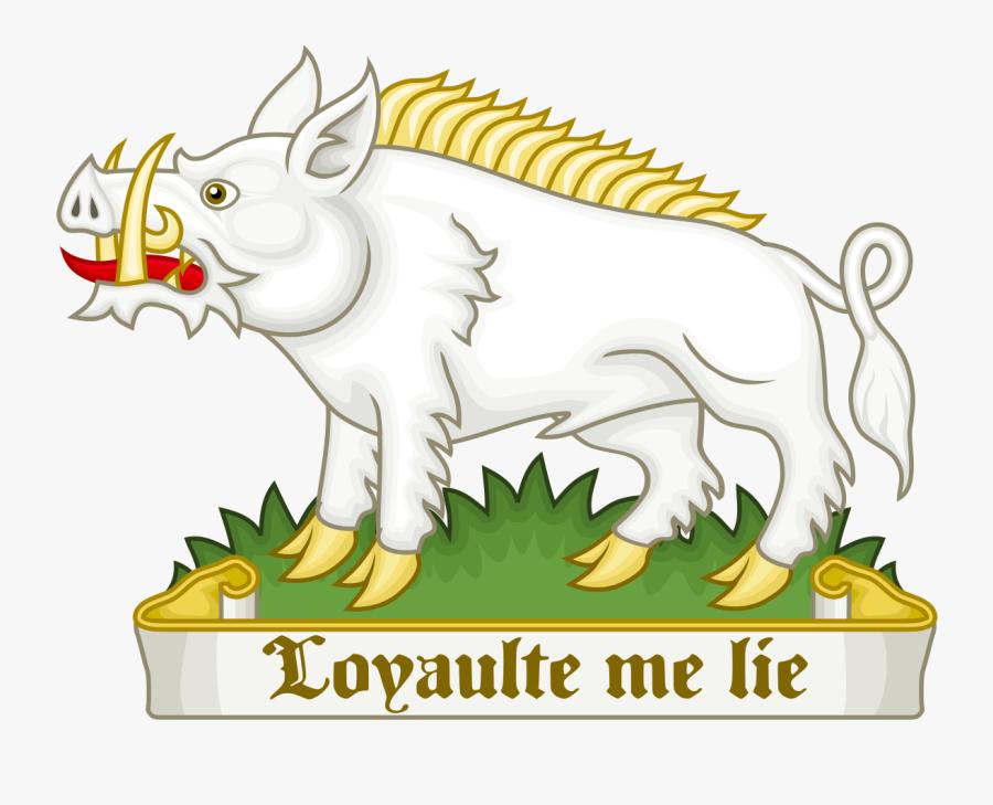 White Boar Of Richard Iii - Richard Iii White Boar, Transparent Clipart