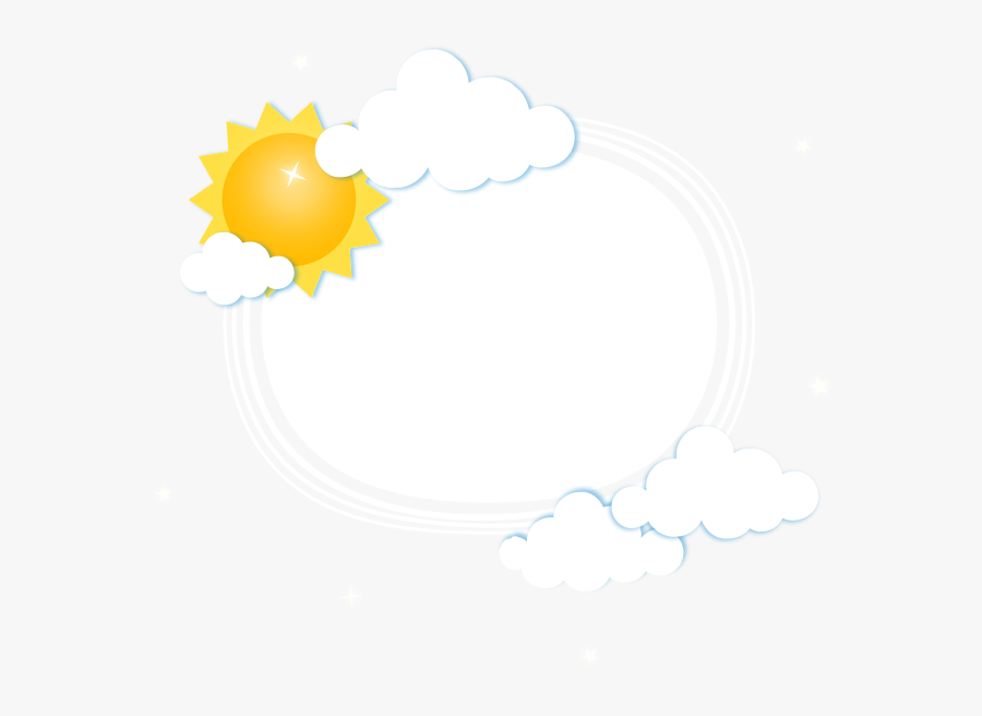 Weather Wallpaper Sky Cartoon Dialog Free Transparent - Illustration, Transparent Clipart