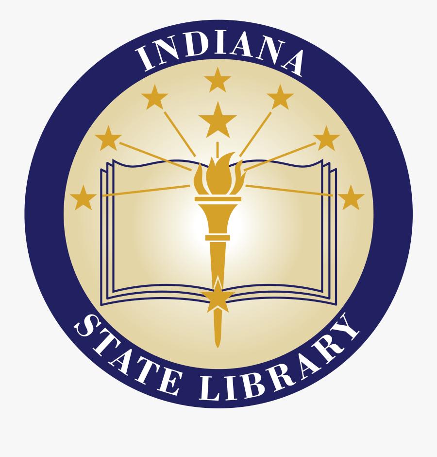 Indiana State Library - Indiana State Library Logo, Transparent Clipart