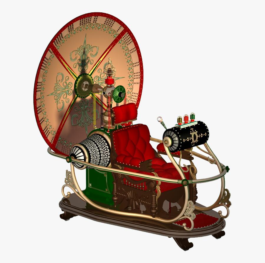 Wells Time Machine - Hg Wells Time Machine, Transparent Clipart