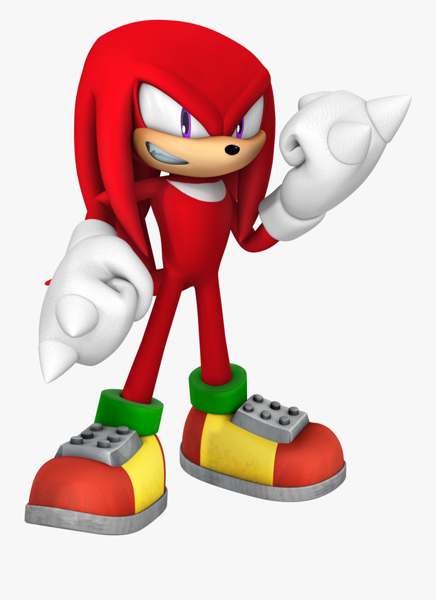 Knuckles The Echidna - Knuckles The Echidna Sonic, Transparent Clipart