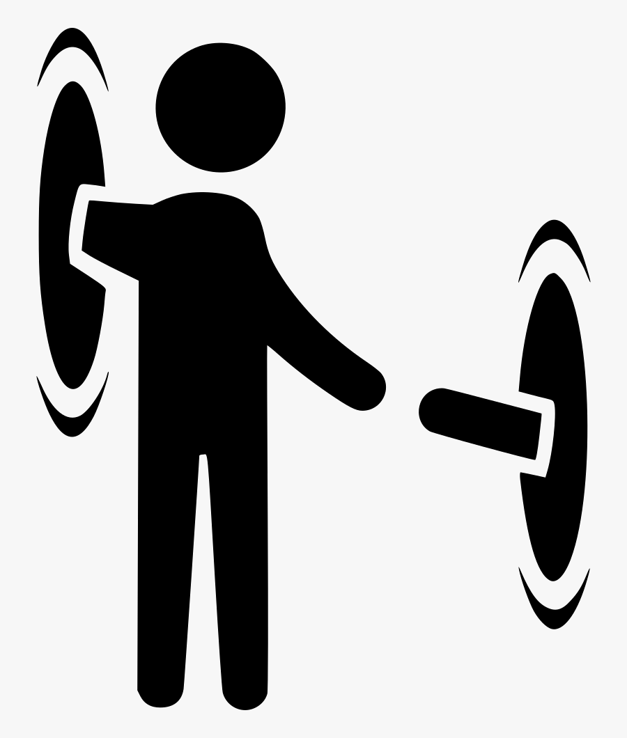Icon Design Clipart Time Travel Teleportation - Time Travel Symbol Png, Transparent Clipart