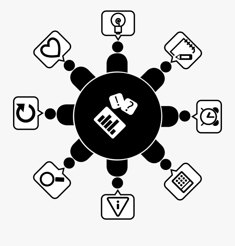 Meeting Clipart Board Meeting - Vektor Diskusi, Transparent Clipart