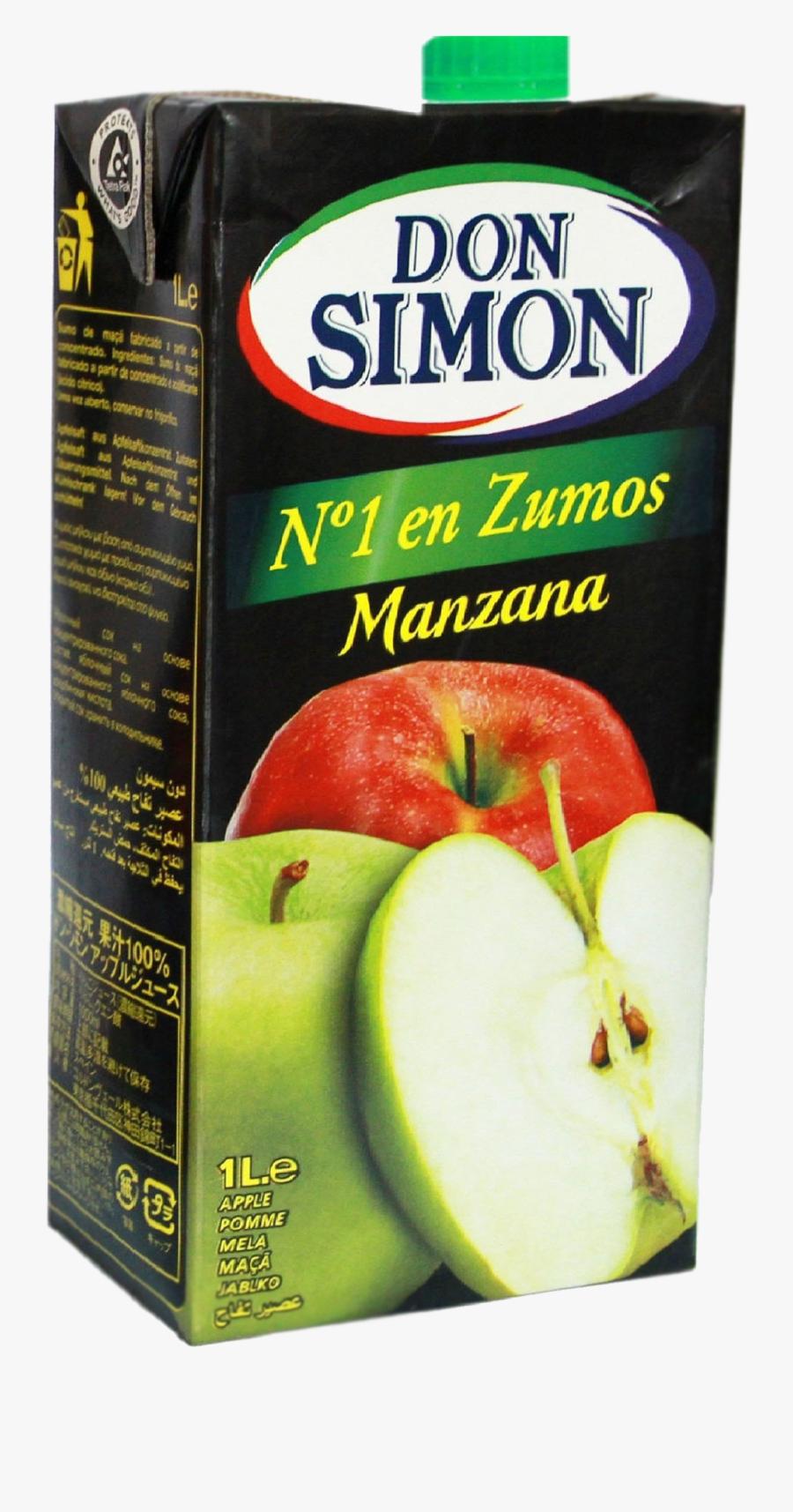 Transparent Apple Juice Png - Don Simon Orange Juice, Transparent Clipart